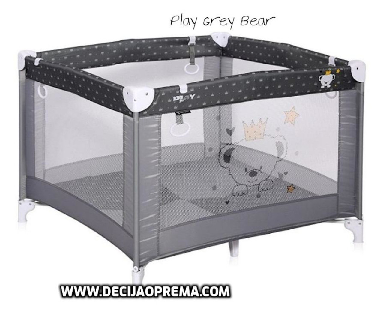 Ogradica Lorelli Bertoni Play Grey Bear