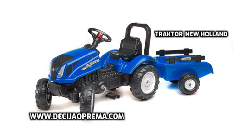 Traktor Falk New Holland na pedale