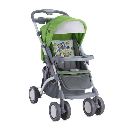 Kolica za bebe Apollo Set Lorelli Bertoni Green & Grey Car