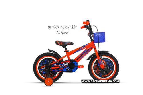 "Bicikl Ultra Kidy 16"" Orange"
