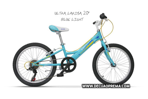 "Bicikl Ultra Larisa 20"" Blue Light"