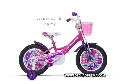 "Bicikl Moon Flory 16"" Purple"