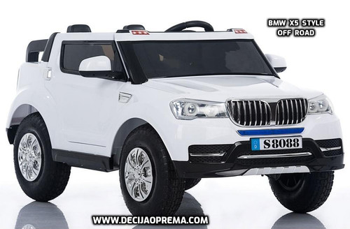 BMW X5 Style Off-Road Dvosed auto na akumulator za decu