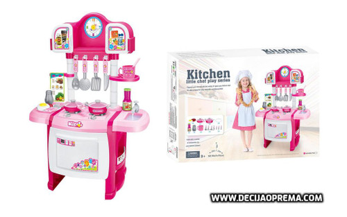 Kuhinja Little Chef Roza