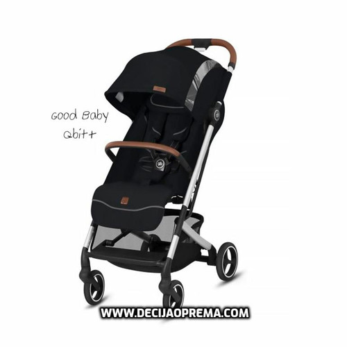 Kolica za bebe GB Qbit+ All city Fashion velvet black