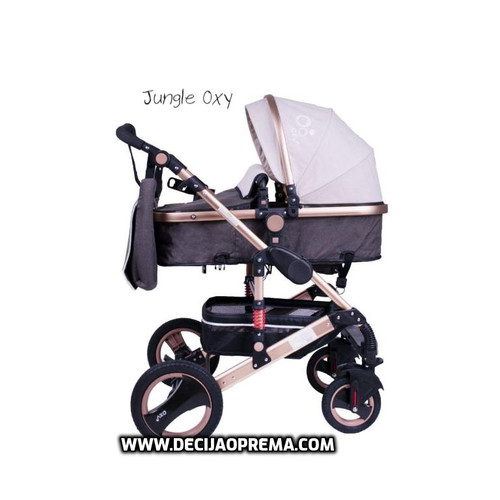 Kolica za bebe Jungle Oxy Beige