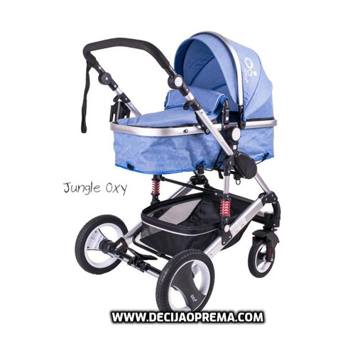 Kolica za bebe Jungle Oxy Blue