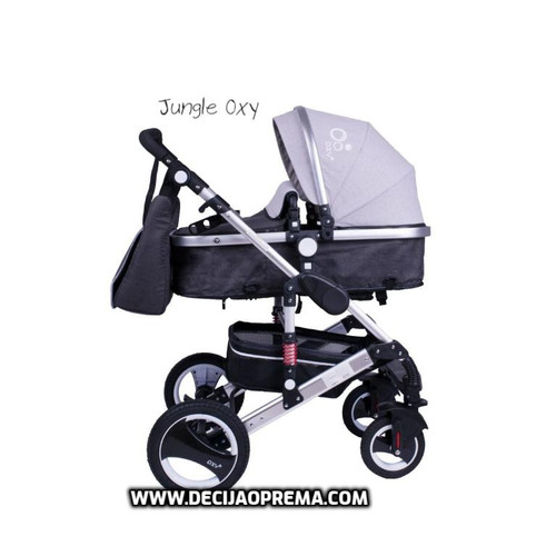 Kolica za bebe Jungle Oxy Grey