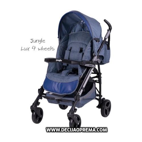 Kolica za bebe Jungle Lux 4 wheels