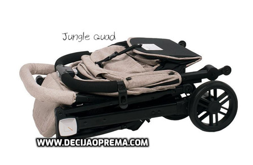 Kolica za bebe Jungle Quad Grey