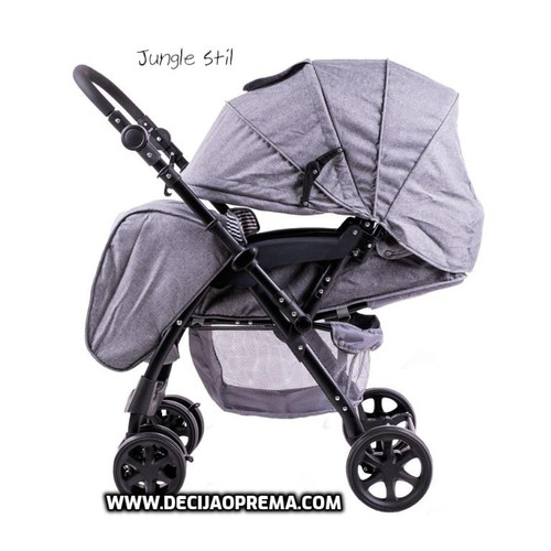 Kolica za bebe Jungle Stil Grey