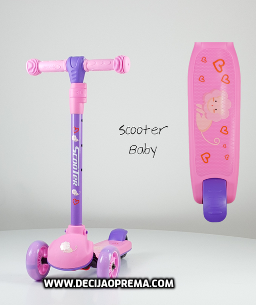 Trotinet Scooter Baby Rozi