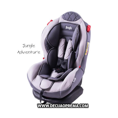 Auto Sedište Adventure 0-25kg Jungle Grey