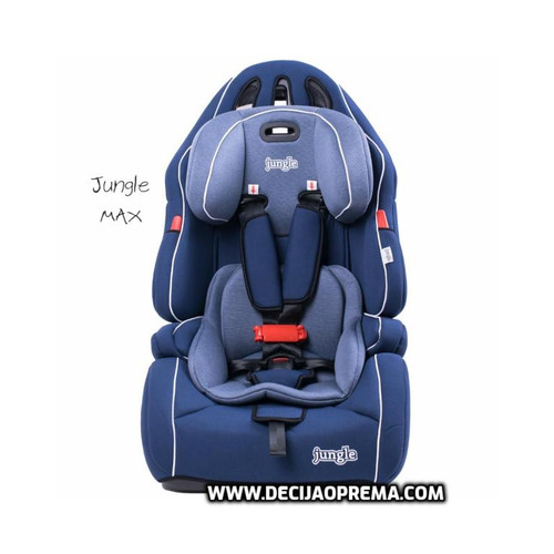Auto Sedište Max 9-36kg Jungle Blue