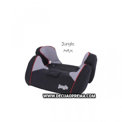 Auto Sedište Max 9-36kg Jungle Black Red