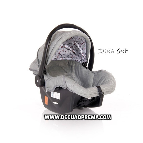 Kolica Ines Set Lorelli Bertoni Dark Grey Lighthouse
