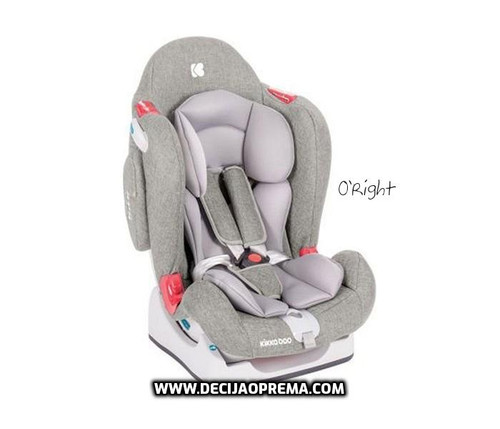 Auto Sedište O'Right 0-25kg Kikka Boo Light Grey