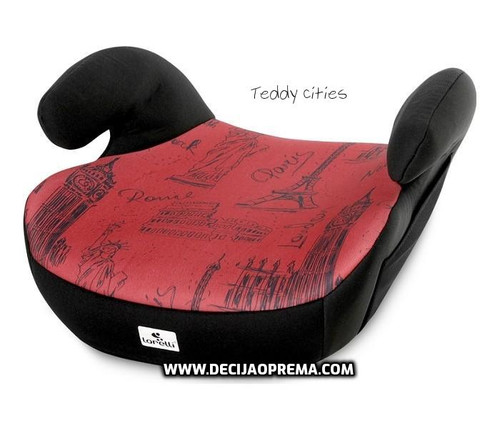 Auto Sedište Teddy Lorelli Bertoni 15-36kg Black&Red Cities