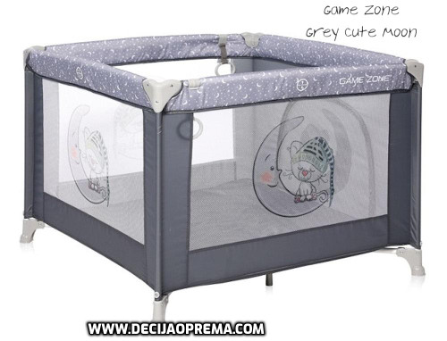 Ogradica Lorelli Bertoni Game Zone Grey Cute Moon