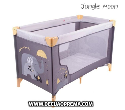 Prenosivi Krevetac Jungle Moon Grey
