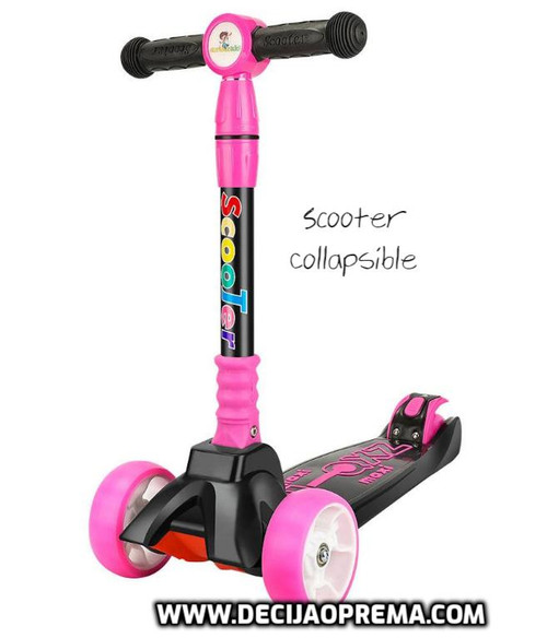 Trotinet Scooter Collapsible Rozi