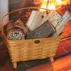 Peterboro Large Magazine & Fireside Storage Basket
