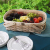 Peterboro 7-Compartment Oval Server Basket