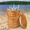 Peterboro Cool Stool Basket