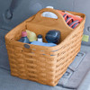 Peterboro Large Divided Auto Storage Basket