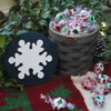 Peterboro Countertop Storage with Snowflake