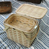 Peterboro Twice-as-Good 1930s Reproduction Picnic Basket nesting