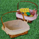 Peterboro Easter in Mind Basket with Liner