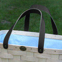 Peterboro Sky Blue Genuine Tote