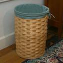 Peterboro Tall Round Laundry Hamper