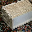 Hardwood base for stability
