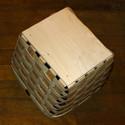 Hardwood base bottom