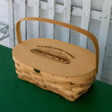 Peterboro Picket Fence Reproduction Basket