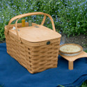 Peterboro On The Green Deluxe Picnic Basket
