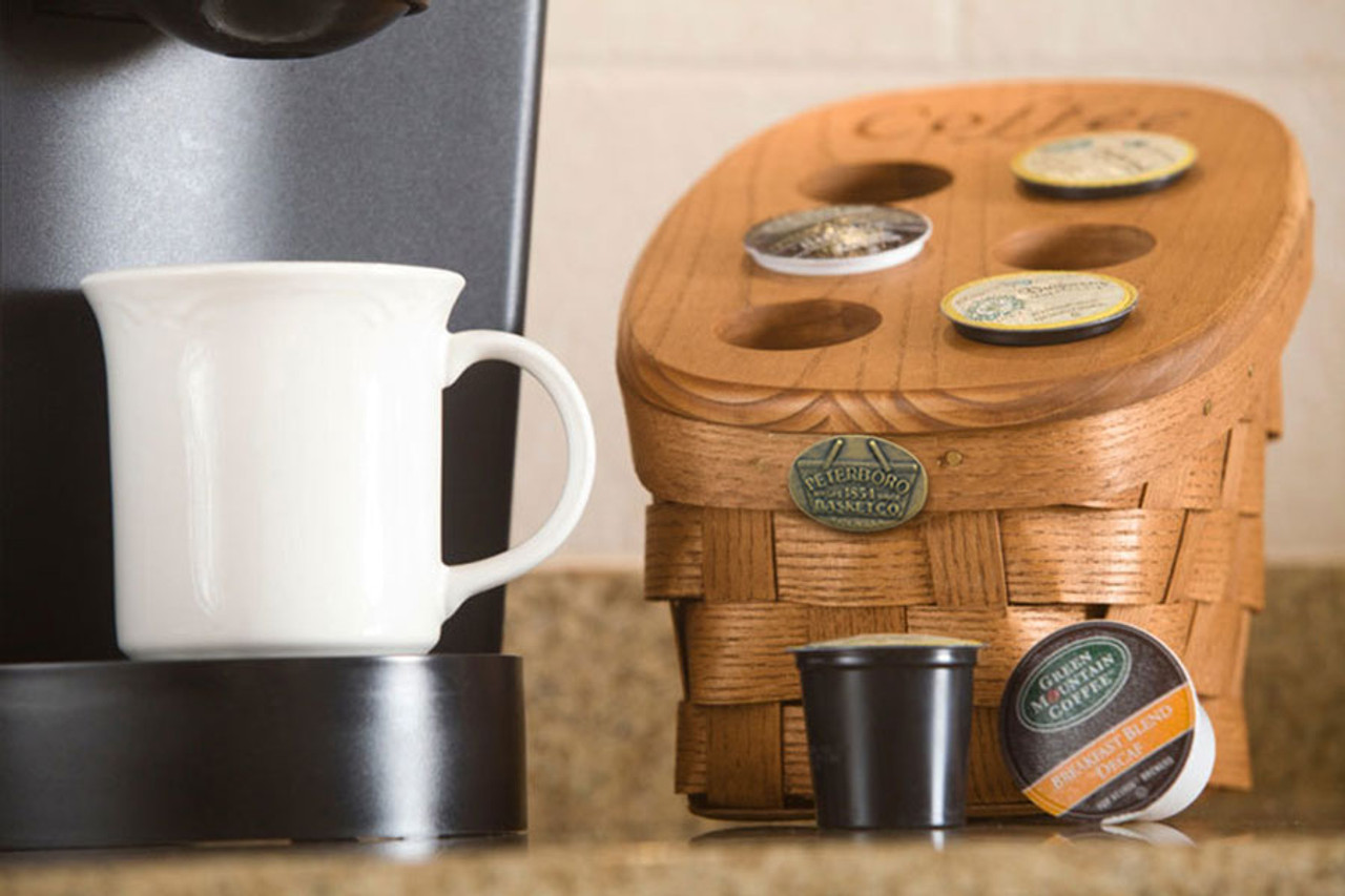 Countertop Storage Basket Peterboro Regular K Cup Coffee Storage Basket