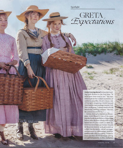 Exclusive First Look: Vanity Fair, Little Women and Peterboro Baskets