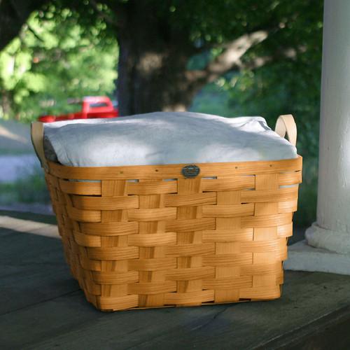 Peterboro Square Laundry Basket