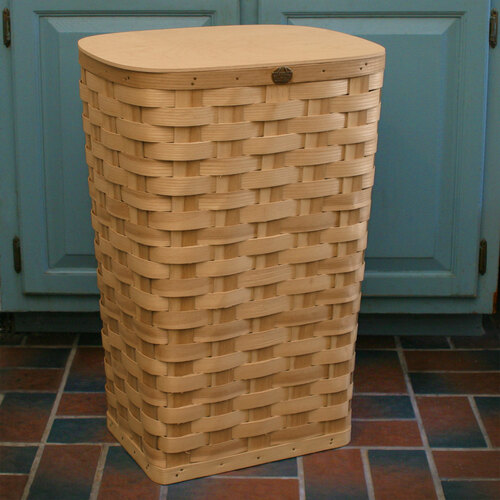 Peterboro Tall Laundry Hamper and Waste Basket