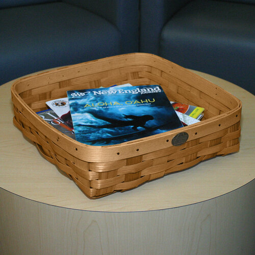 Peterboro Square Tabletop Storage Basket
