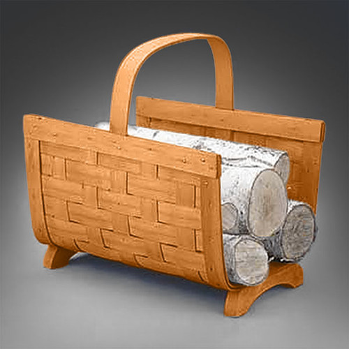Peterboro Firewood Carrier Basket