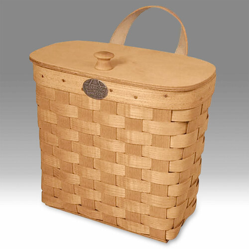 Peterboro Mail & Welcome Basket with Lid