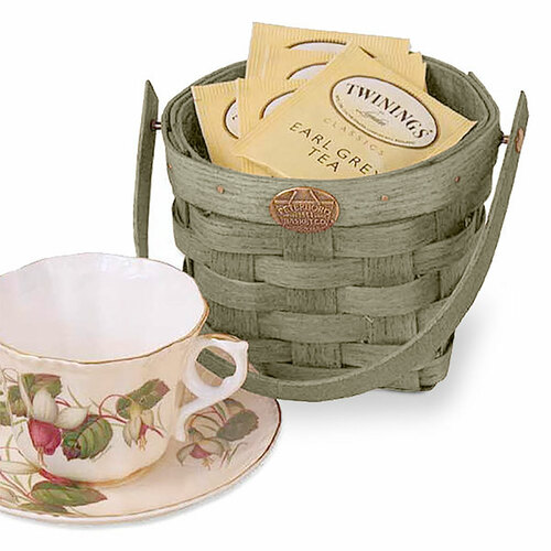 Peterboro Tea Cup Basket