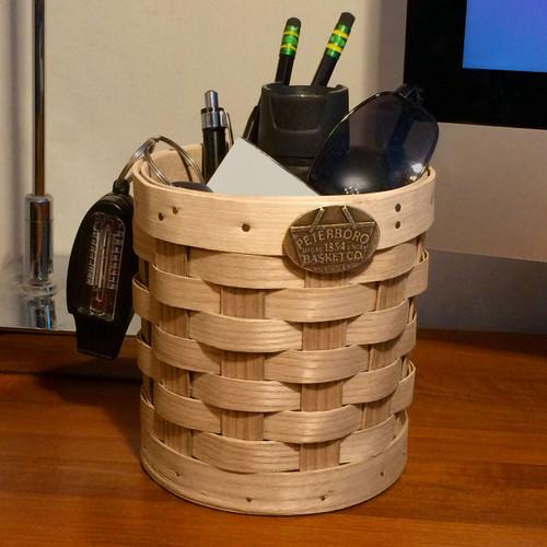 Peterboro Tabletop Storage Basket