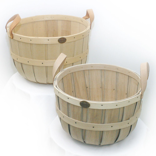 Peterboro Half Bushel and One Peck Storage Set