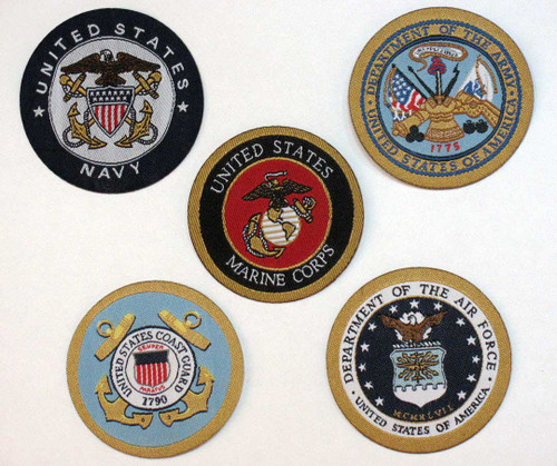 Armed Forces Patches