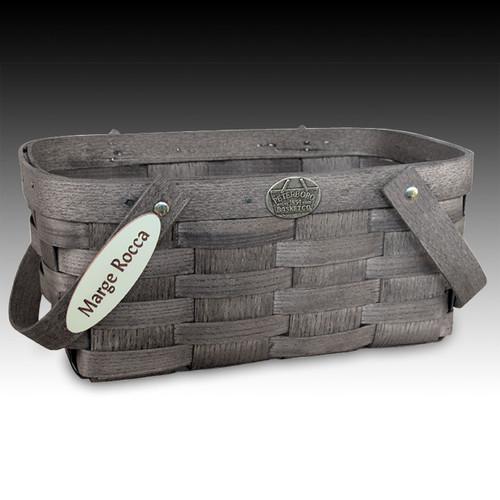Peterboro Personalized Shopper Basket